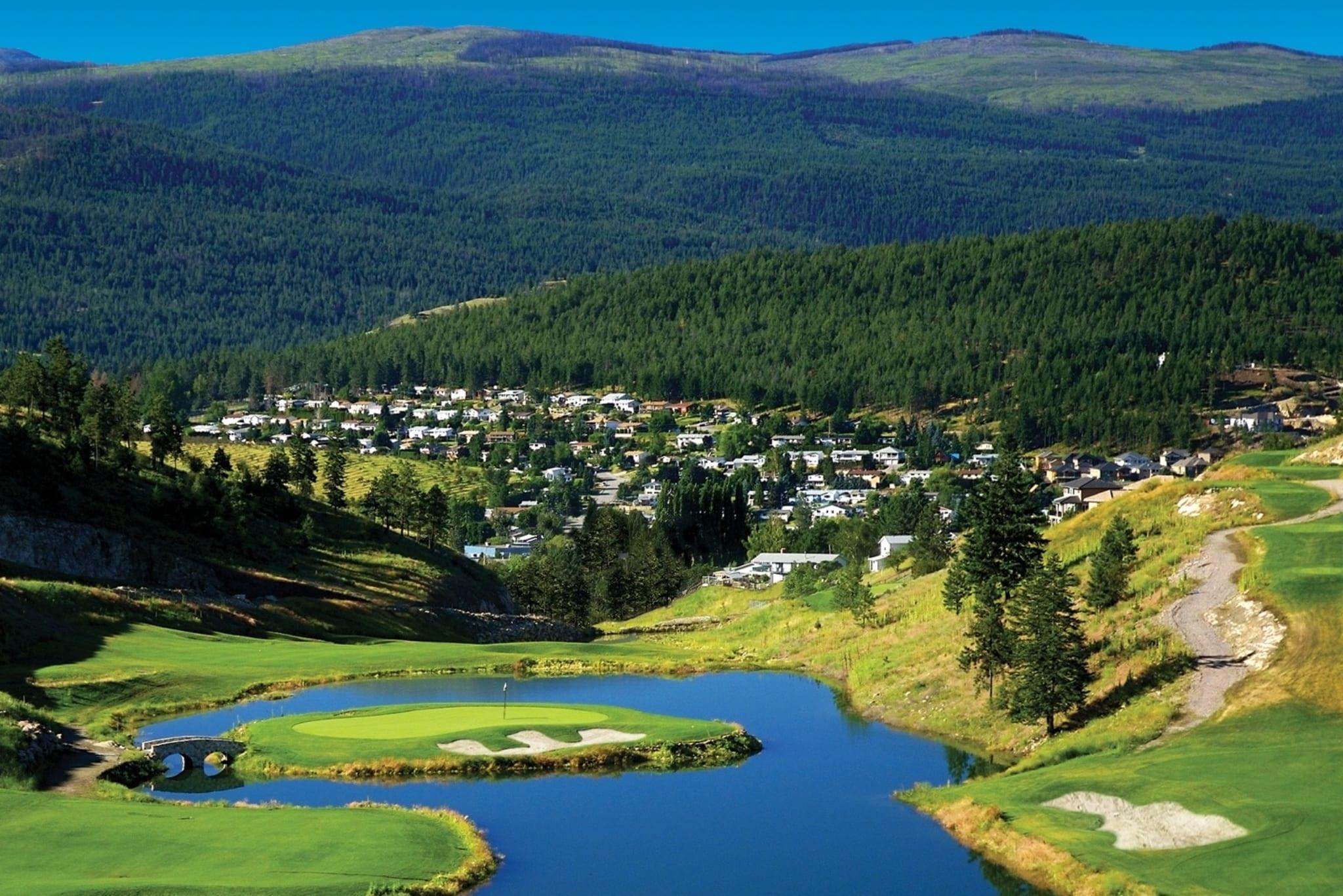Black Mountain Golf Course Kelowna BC Douglas Lake Custom Homes