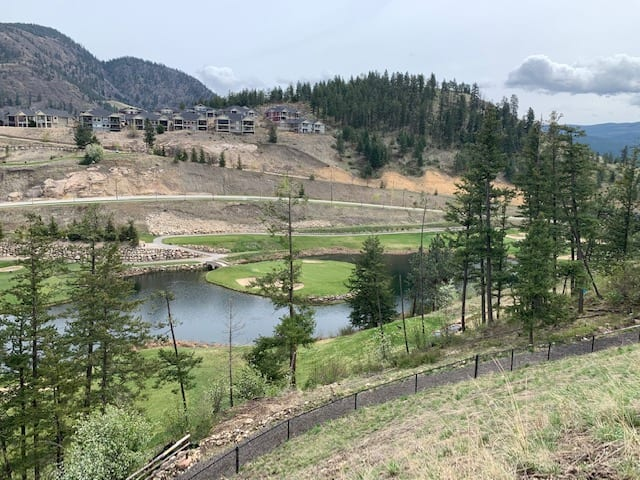 Douglas Lake Custom Homes Lot View from Black Mountain Golf Course